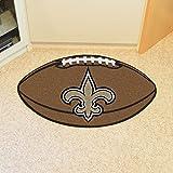 "Fanmats Home Indoor sports Team Logo Mat New Orleans Saints Football Rug 22""x35"""