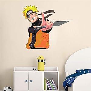Ewdsqs Naruto Uzumaki Vinyl Decal Naruto Anime Wall Art Sticker Decor