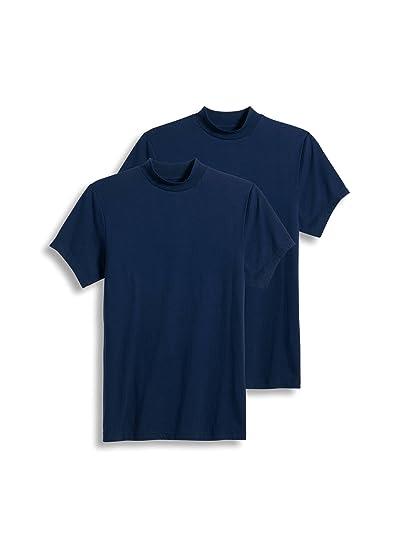 c81470b6147 Jockey men sportswear short sleeve mock neck tee pack clothing jpg 398x550 Mock  neck short sleeve