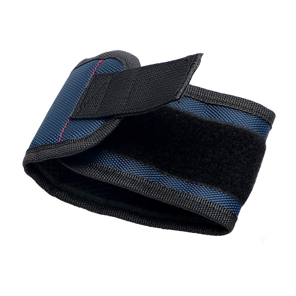 Bleu 1/pcs Aimant myrtilles Bracelet magn/étique pour Adsorption Vis