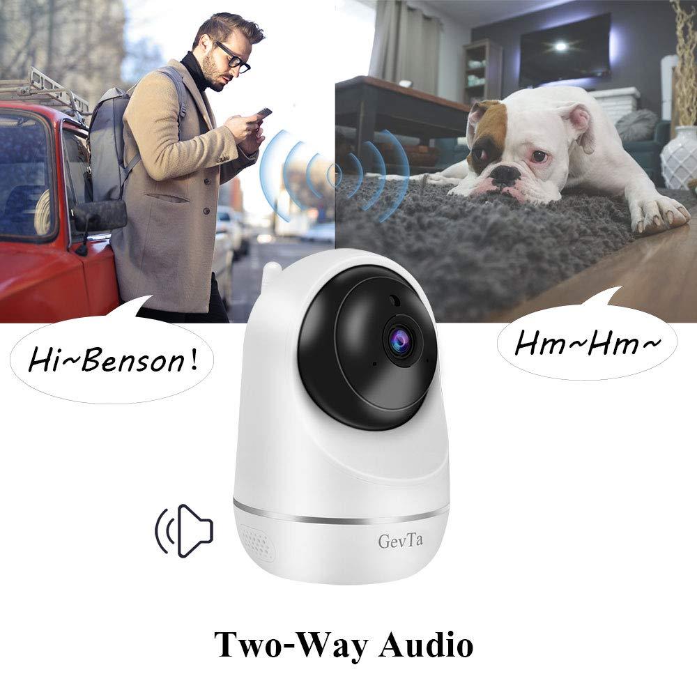 Amazon.com: GevTa Cámara para mascotas, FHD cámara para ...
