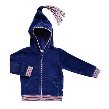 Leela Cotton Baby//Kinder Kapuzenjacke aus Reiner Bio-Baumwolle