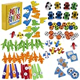 Prize Box Toys Assortment for Kids - 100-Piece Bulk Birthday Party Favor Treasure Chest Items for Classroom Rewards, Pinata Filler, Goodie Bags for Boys and Girls