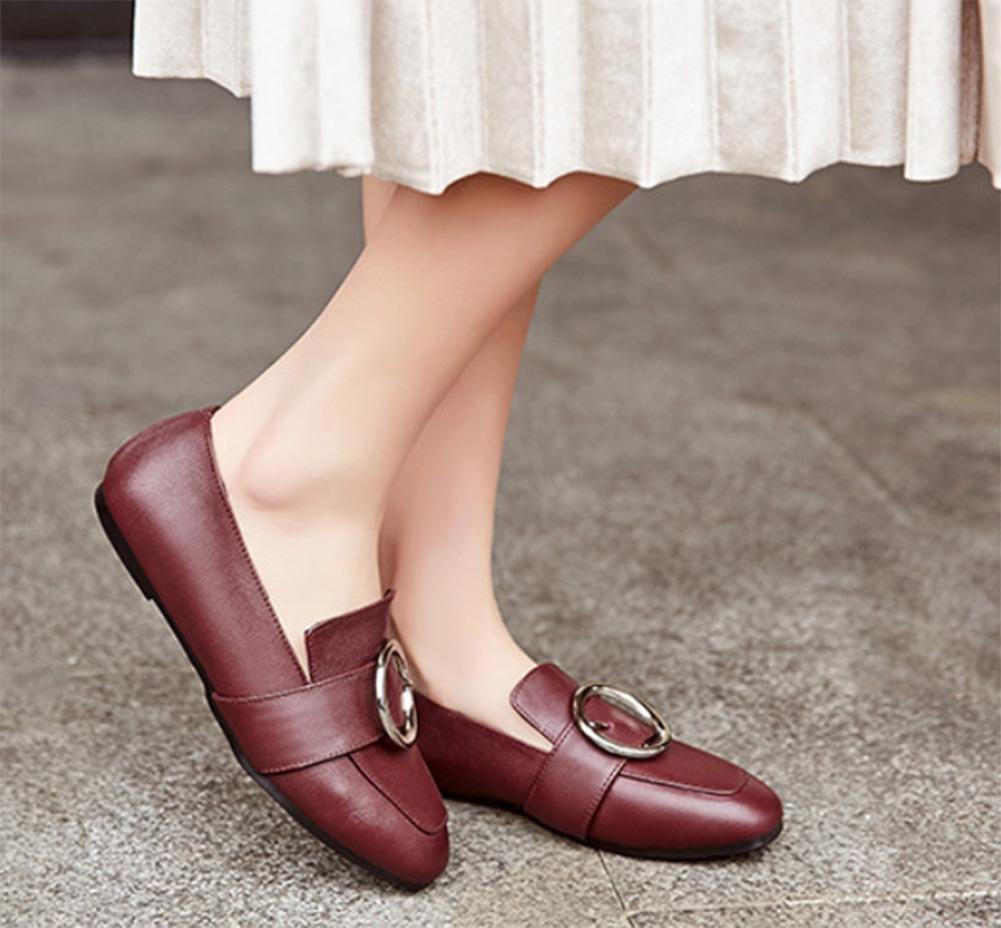 Frau Frühling Aufzug Schuhe tief Mund sondert Schuhe Schuhe flache Schuhe sondert Damen Freizeitschuhe Schuhe , US8.5/ EU40 / UK6.5/ CN40 - b7eaa9