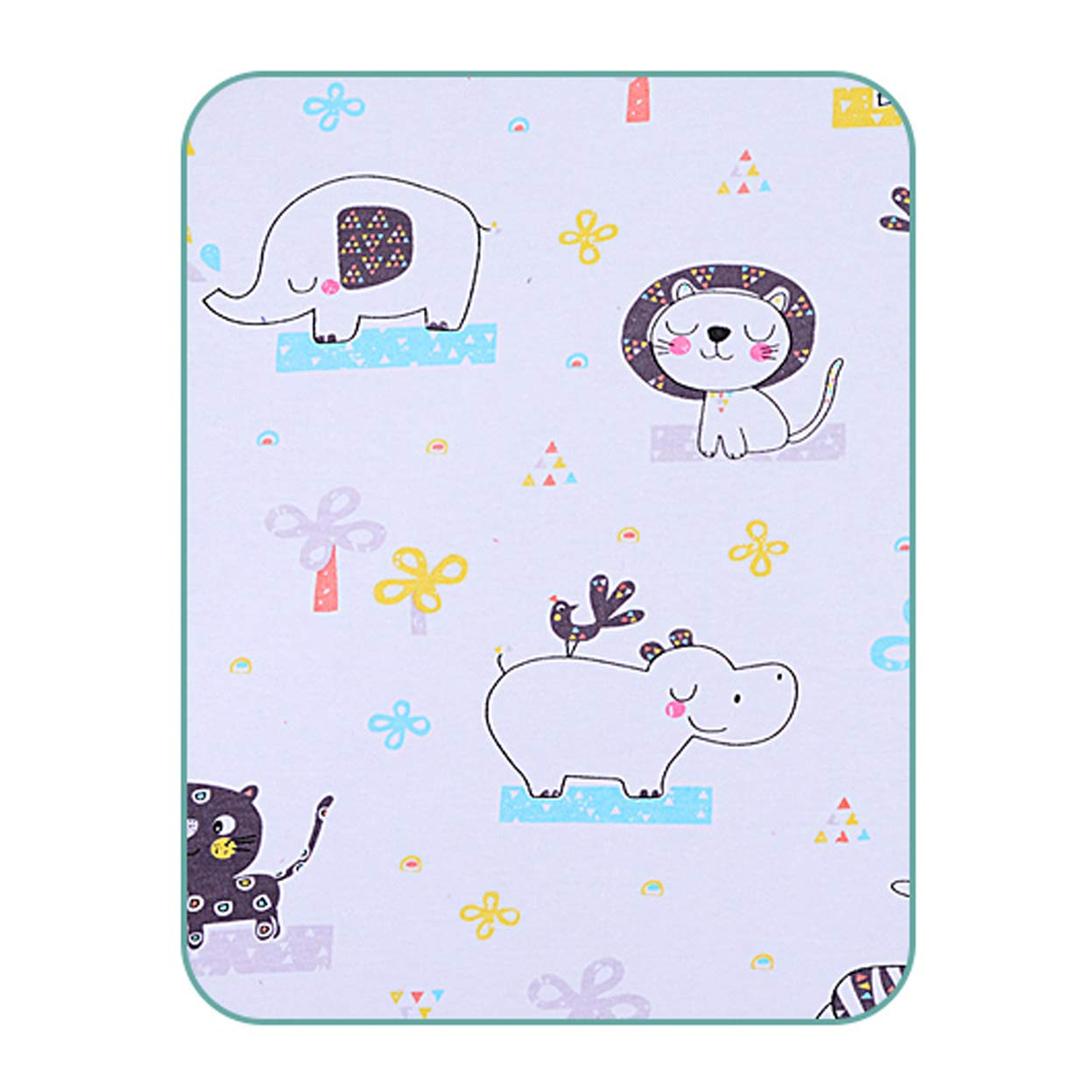 Ggsrtesxs Quality Bed Pad Adult Women's Infant Patient Old Student Absorbent Premium Cotton Breathable Non-Slip Leak-Proof Quilted Waterproof Reusable Washable,B,75x100cm by Ggsrtesxs