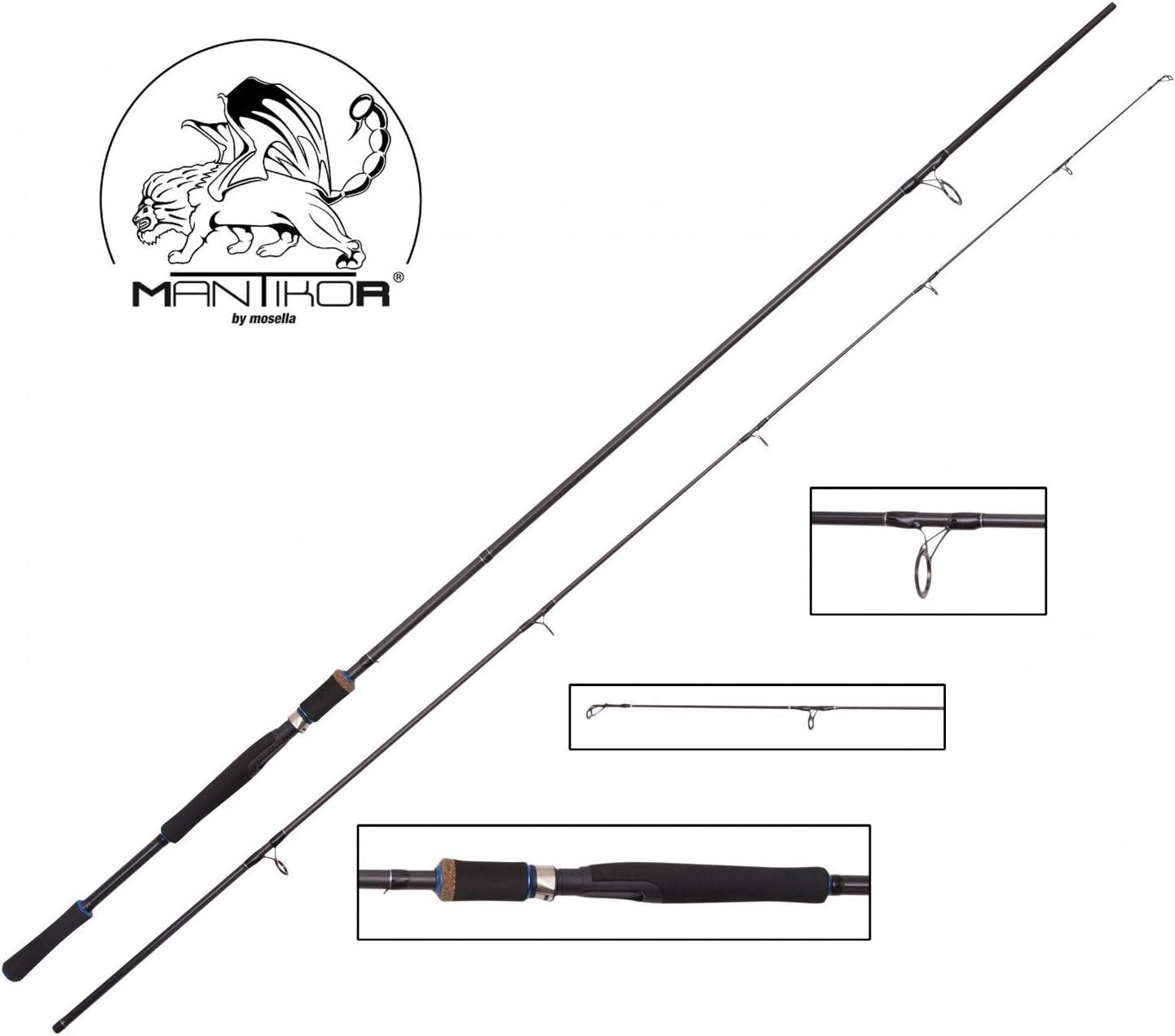 Akita Manticore Spin 2,70 M 15-40G, caña, caña de pescar para ...