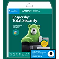 Kaspersky Total Security 5-Device, 2-Account KPM, 1-Account KSK 3 year (Single Key) (Email Delivery in 2 Hours - No CD)