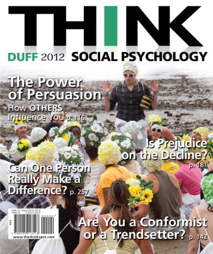 THINK Social Psychology 2012 Edition