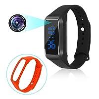 Sport Montre caméras cachées 1080 P Bracelet Intelligent Style Mini caméra vidéo Espion Affichage du Temps Manuel Multi-Langue