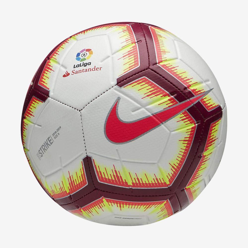 Nike Ll Nk Strk-fa18 Balón de fútbol, Unisex Adulto, Blanco/Azul ...