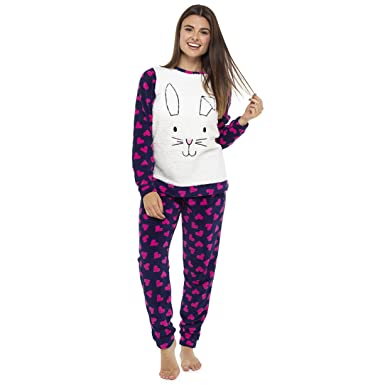 a4232f491 Ladies Animal Twosie Pyjama Set
