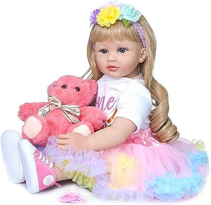 Reborn Baby Dolls Realistic Reborn Babies Girl Lifelike Princess Toddler Toys