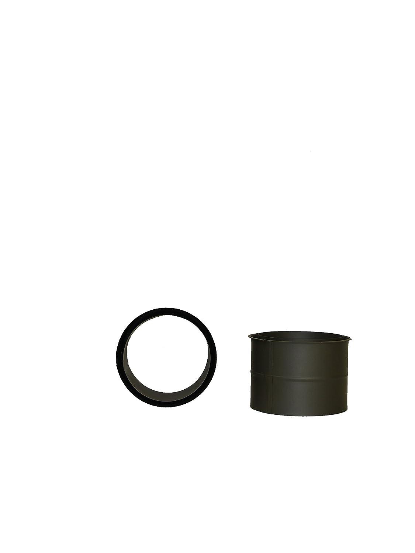 Sombrerete antiviento Estanco Acero inoxidable Simple Pared AISI-316 /Ø 180
