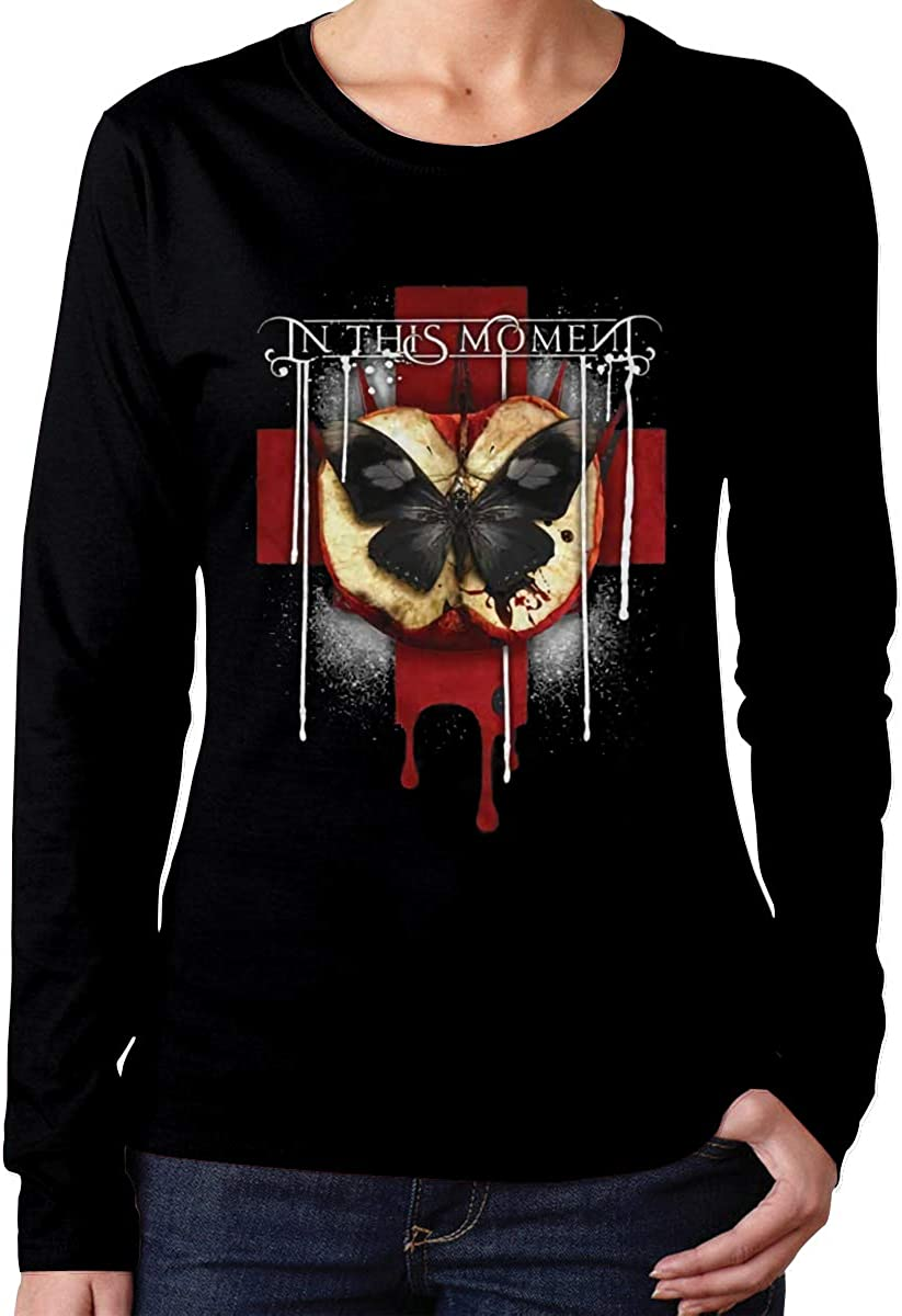 in This Moment Rotten Apple Band Logo Womans T Shirts Gift Long Sleeve
