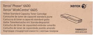 Xerox Toner Cartridge - 6600, Yellow
