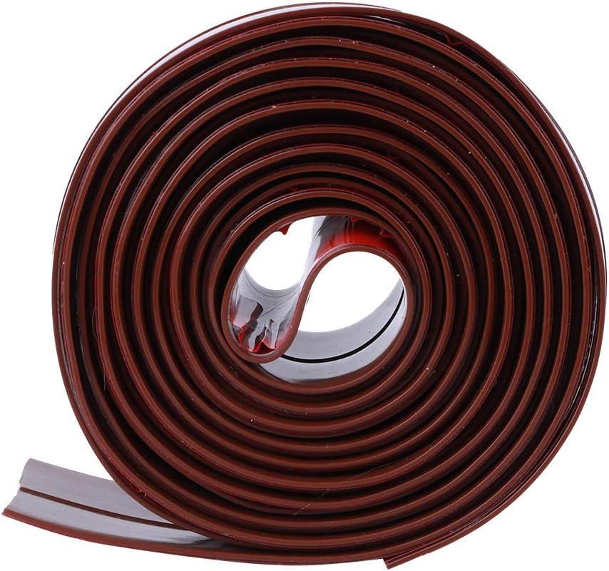 Oumefar Sealing Strip Sticker Silicone Sealing Sticker Weather Stripping Silicone Seal Strip Self-Adhesive Strips Sealing Strip for Doors for Windows