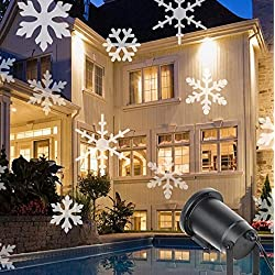 L&T STAR 6WLED Snowflake Grass Lamp Outdoor Waterproof Projection Projection Christmas Lights Halloween Lights