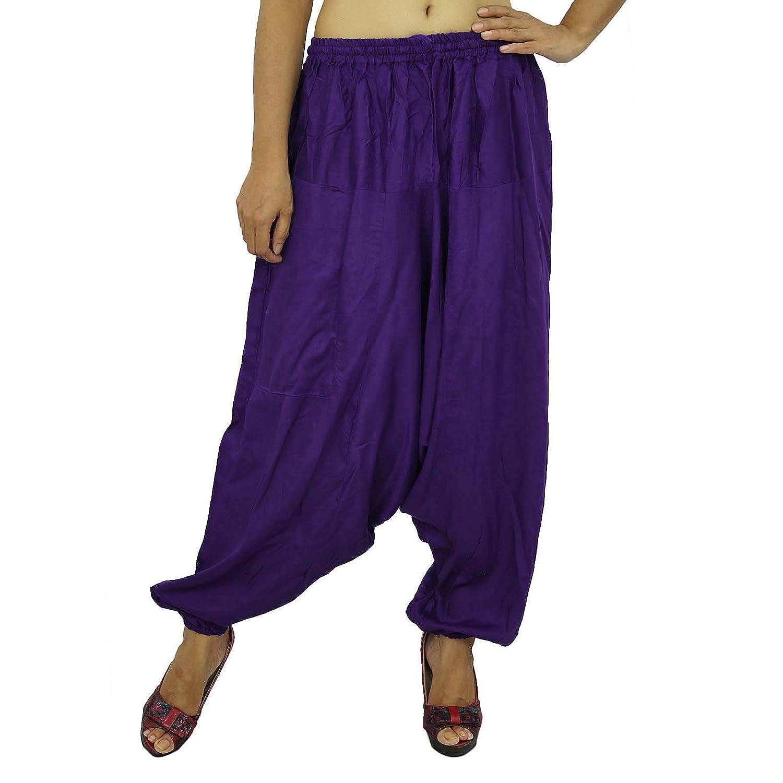 Yoga Harem Aladdin Hosen-beiläufige Hippie Harem Frauen-Abnutzungs-Baumwollhose