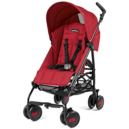 Peg Perego Pliko Mini Geo - Silla de paseo plegable, color red