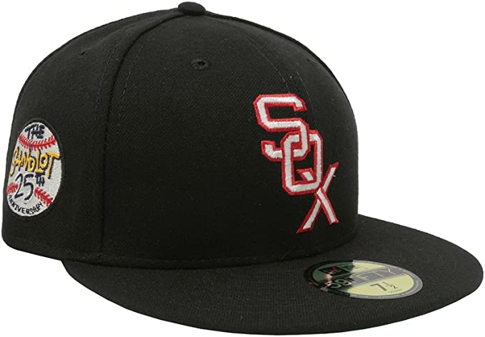 MLB Cap New Era Chicago White Sox GAME 59Fifty Fitted Hat Black