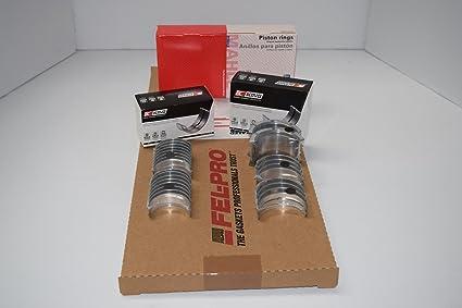 Amazon com: Pontiac 400 Engine Rering Kit Piston Ring+Rod/Main