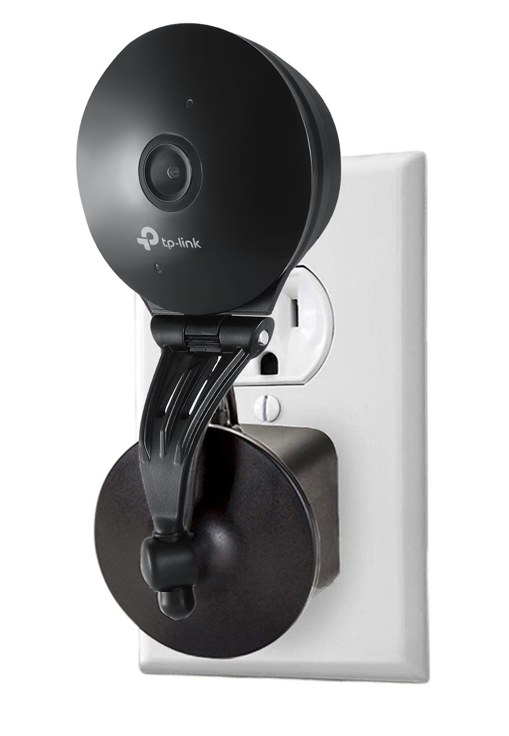 AC Outlet Mount Compatible with Kasa Cam 1080p Smart Home Indoor Security Camera - Flexible Placement Option for Your Kasa Cam