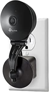 AC Outlet Mount Compatible Kasa Cam - Wall Mount 360-degree Swivel Kasa Cam - Relocate Your Camera Anywhere in Your House Without Any Hassle Wasserstein