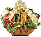 A Splendid Holiday Gourmet Food Christmas Gift Basket
