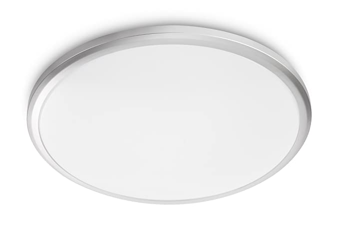 Plafoniera Led Suede Philips : Philips twirly myliving lampada da soffitto a led k grigio