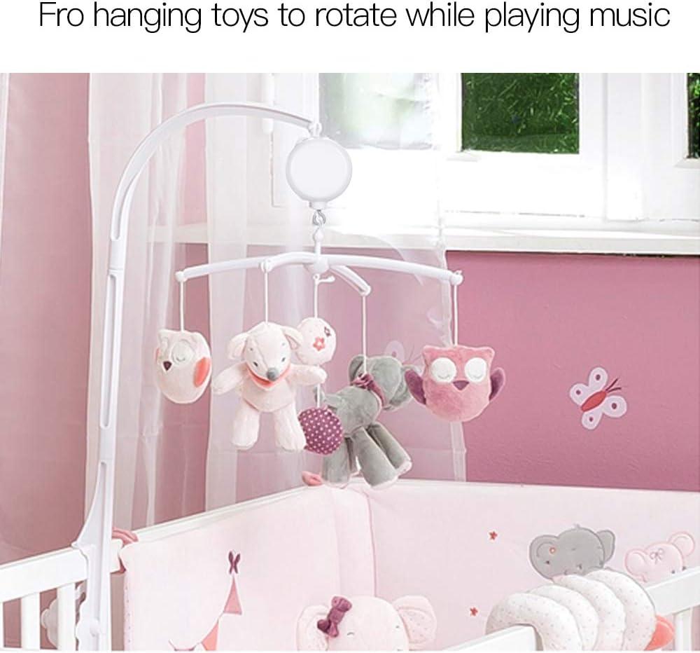 Leebaby Rotary Baby Mobiles Musicaux Lit de Berceau Jouet 35 Chansons Bo/îte /à Musique Mouvement Bells pour Enfants TF Carte avec Ligne USB