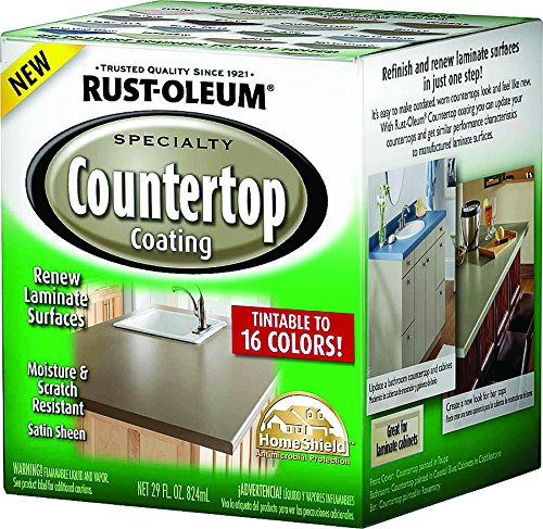 - Rustoleum Specialty 246068 1 Quart Tint Base Countertop Coating