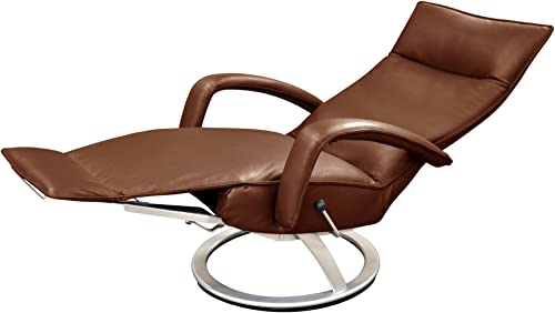 Gaga Recliner Chair Saddle Leather