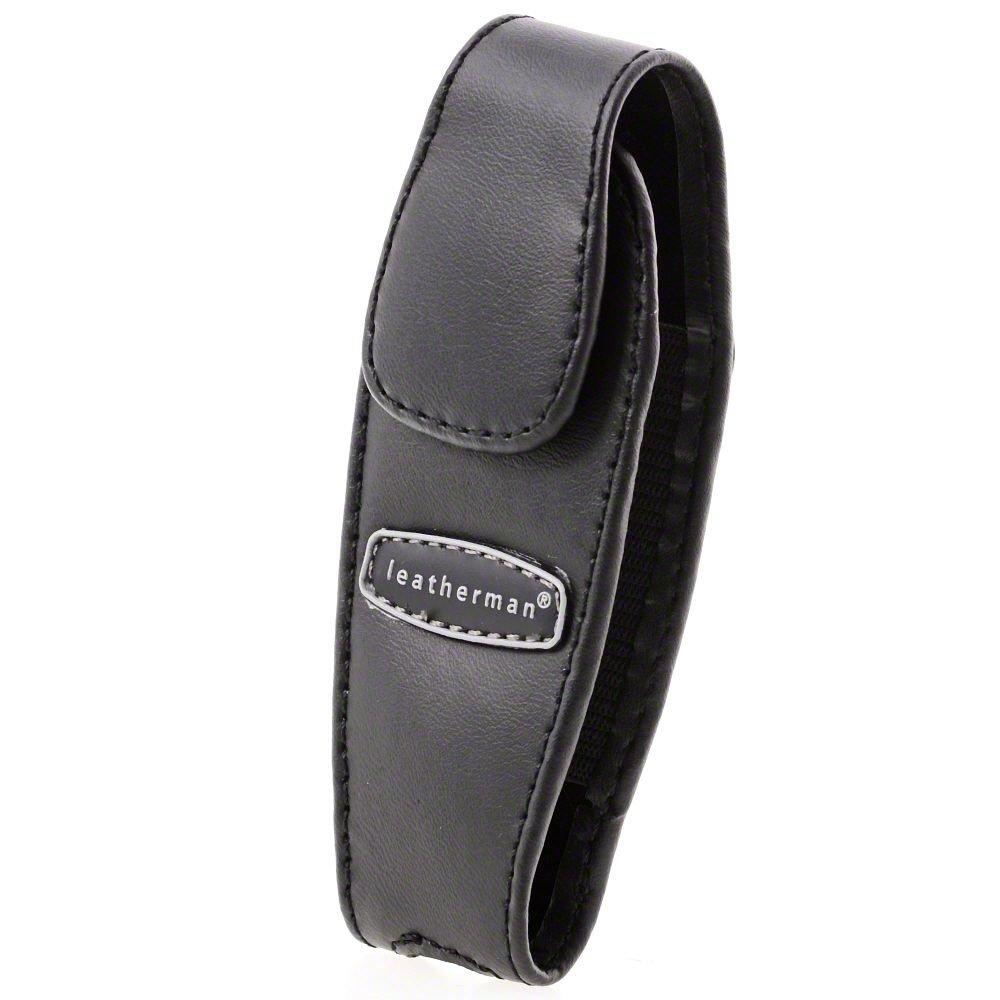 Leatherman 930905 Juice Black Leather Clip-on Multi-Tool Sheath w/Snap Closure