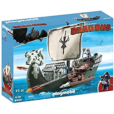 PLAYMOBIL Drago's Ship: Toys & Games