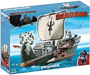 Playmobil Escudo Redondo Vikingo Enano Caballero Dragón Barco Bote