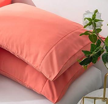 Amazon.com: AYASW - Juego de 2 fundas de almohada de 1500 ...