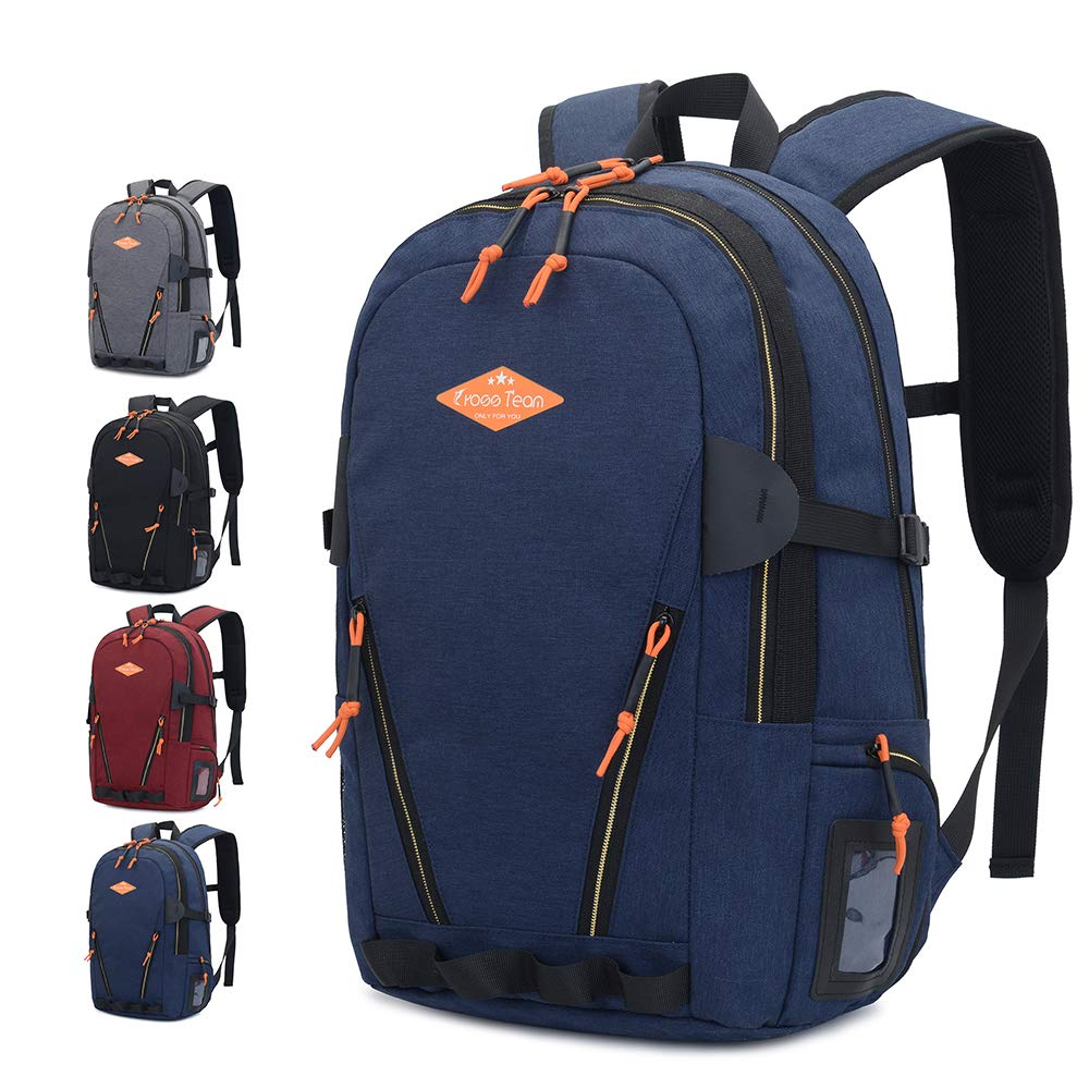 Sunhiker Travel Laptop Backpack, College School Backpack Dayback, Fits 15 Inch Laptop