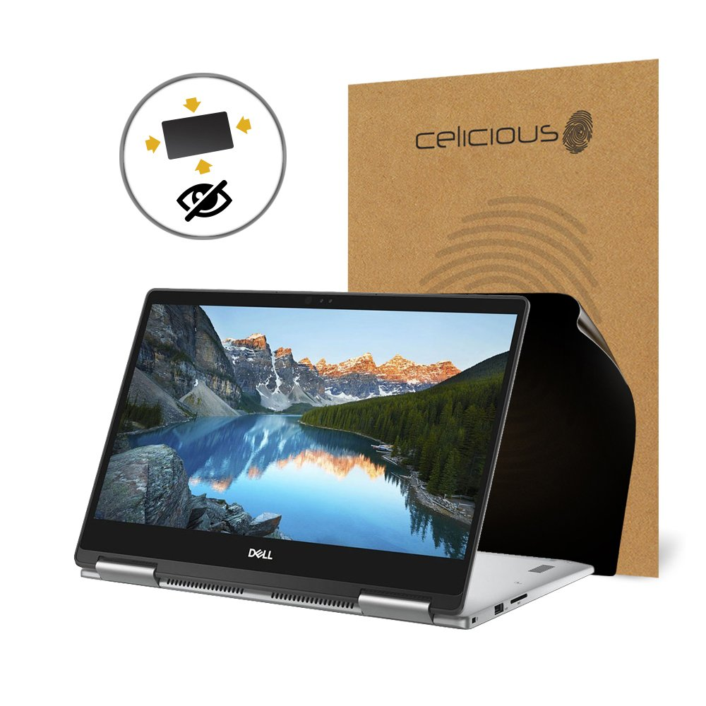 Celicious Privacy Plus 4-Way Anti-Spy Filter Screen Protector Film Compatible with Dell Inspiron 13 7373 by Celicious (Image #1)