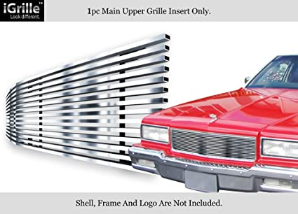 APS 304 Stainless Steel Billet Grille Compatible with 1986-1990 Chevy  Caprice N19-S40068C