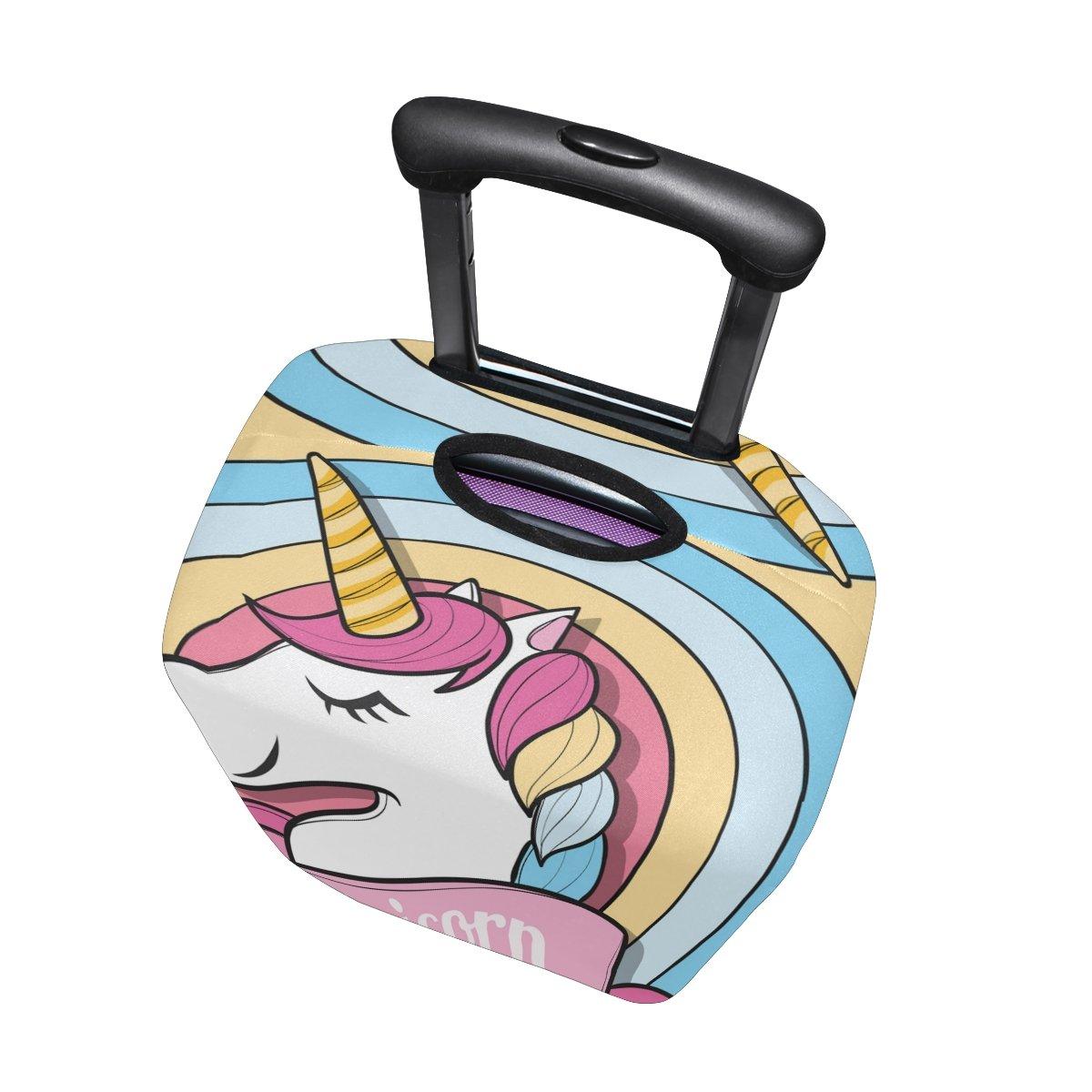 maleta de viaje de unicornio