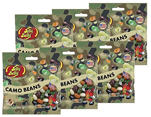 Jelly Belly Camo Bean Jelly Beans - 3.5 oz Bag