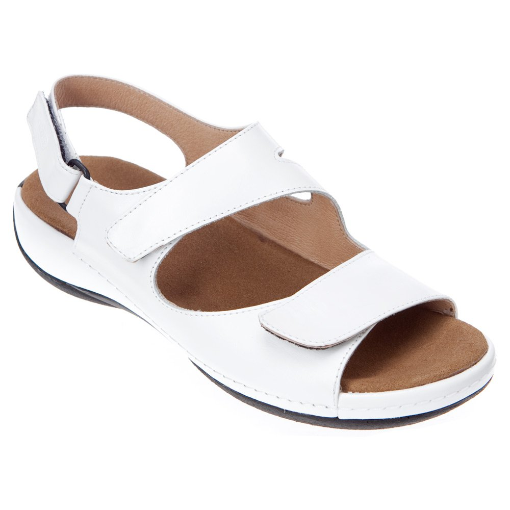 Wolky Comfort Sandals 00315 Liana B00C2YFC9Q 38 EU (6.5-7 M US Women) White Smooth