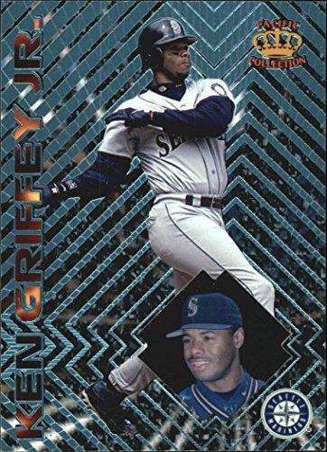 1997 Pacific Prisms Light Blue #63 Ken Griffey Jr. - Seattle Mariners