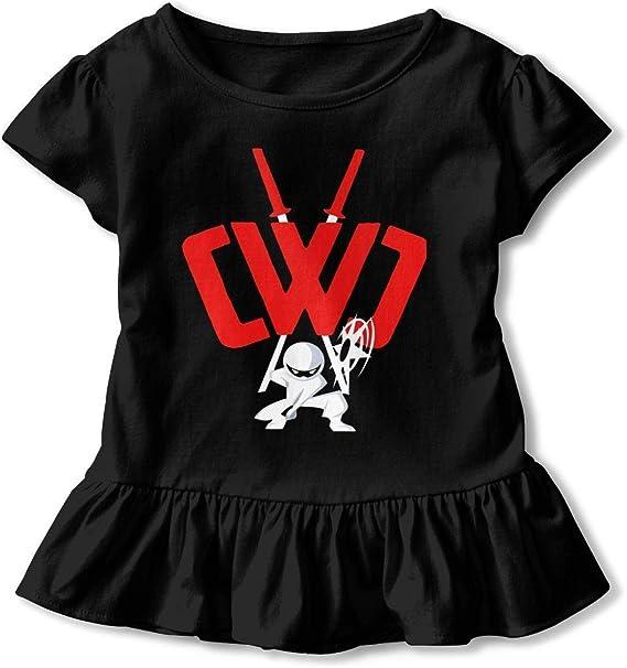 NE CWC Chad Wild Clay Ninja Toddler Baby Girls Dress Cozy