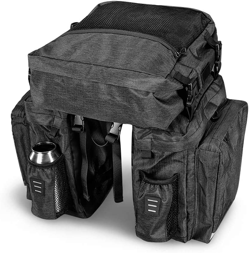 COTEetCI Bicycle Trunk Bag Multifunction Saddle Rack Bag Waterproof Pannier Bike Rear Seat Bag Cycling Cargo Carrier