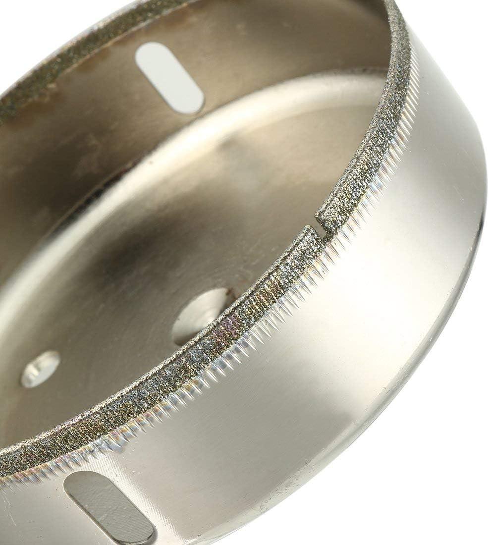 per piastrelle di ceramica di rocca Fresa per sega in vetro rivestito con diamante da 100 mm