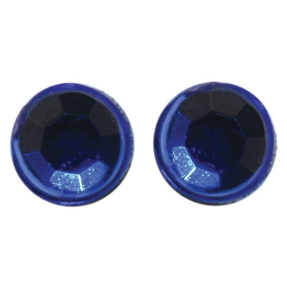 Stud Earring 3mm Blue Made With Crystal Glass /& Magnetic by JOE COOL
