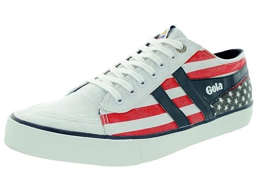 New Gola Shoe Comet Nations Model ZCMA523 White USA Size 9 US 8 UK
