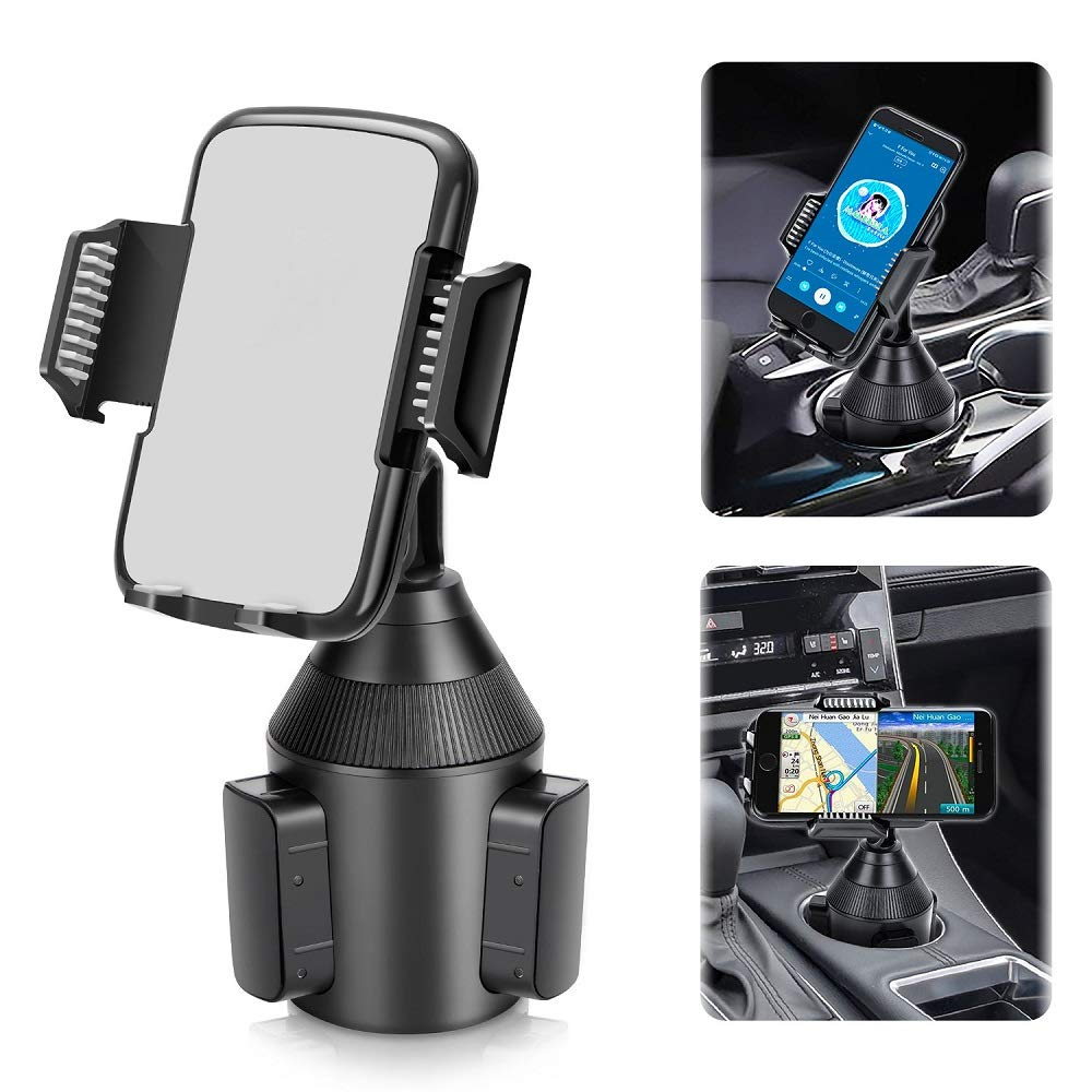 MEYUEWAL Soporte de tel/éfono para Coche Qi Wireless Car Charger Mount Auto Clamping Dashboard Air Vent Infrared Sensor Compatible con iPhone X//XS MAX//XS//XR//X//8//8+ Samsung S10//S10+//S9//S9+//S8//S8+
