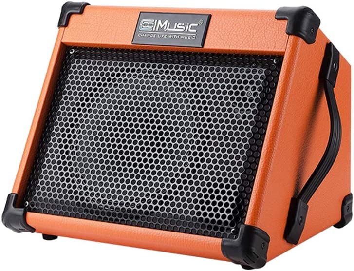 Coolmusic AC20 20W Amplificador de guitarra acústica con teclado Bluetooth